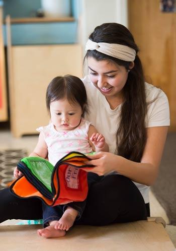 Enjoying a good book!